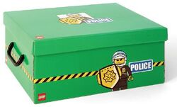 SD536green Storage Box XL Police Green