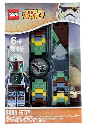 5004605 Lego Star Wars With Boba Fett Minifigure Watch Brickipedia