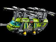 60125 L'hélicoptère de transport du volcan 2
