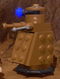Rusty the Friendly Dalek