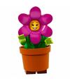 Série 18 Fille pot de fleurs
