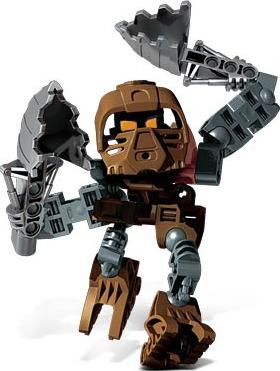 Lego 8724 Bionicle Voya Nui Matoran Garan complet de 2002 C311
