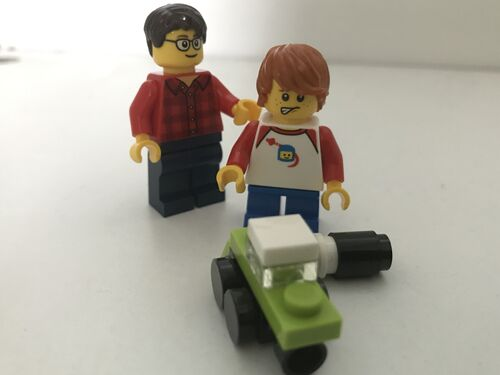 40292 minifigurines 3 DY
