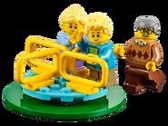 60134 Le parc de loisirs - Ensemble de figurines City 3