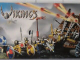 7020 Army of Vikings with Heavy Artillery Wagon