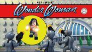 Comics Wonder Woman-S'évader de Gotham City