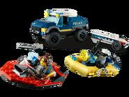 60272 Le transport de bateau de la police d'élite 2