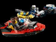 60272 Le transport de bateau de la police d'élite 3