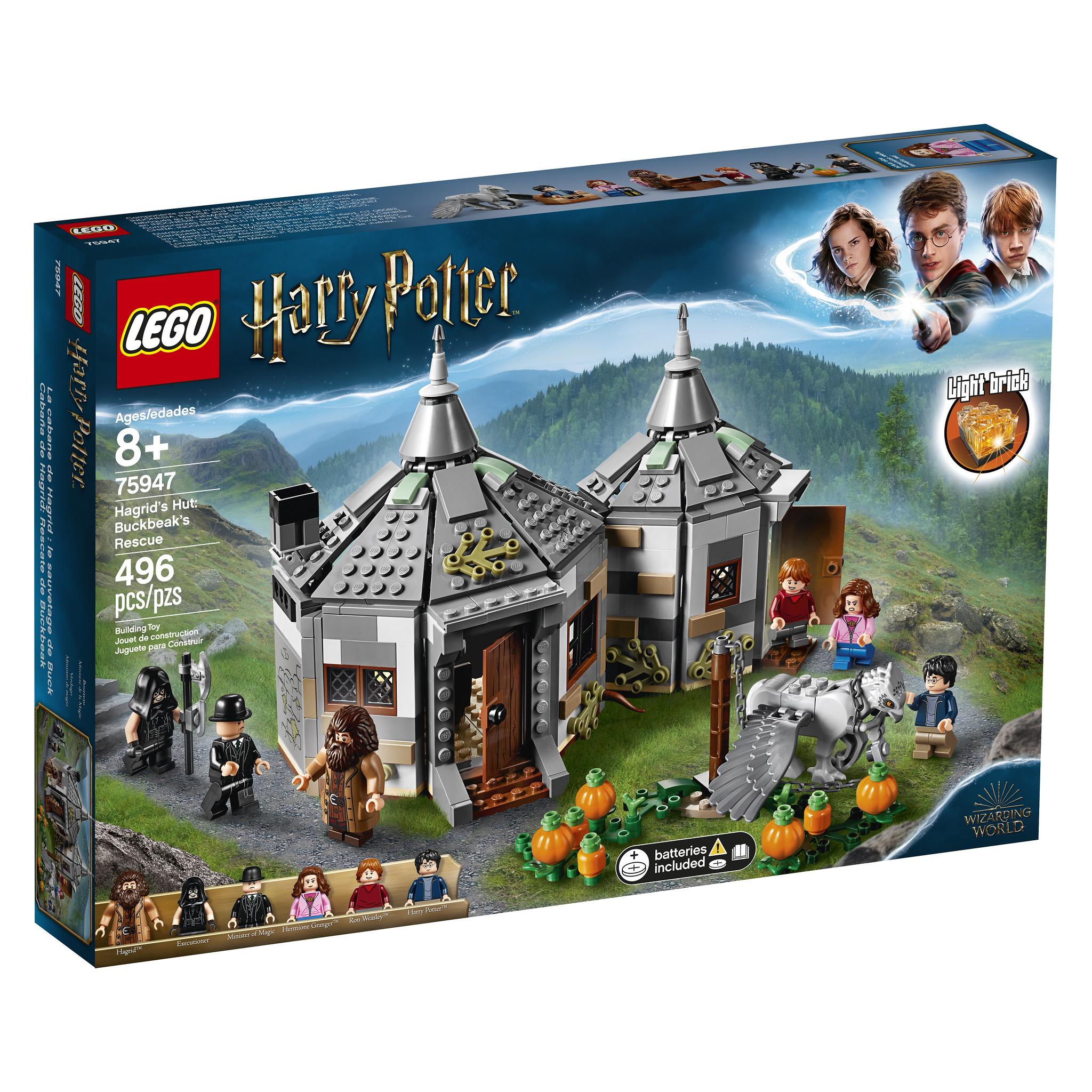 LEGO HARRY POTTER Minifigur RUBEUS HAGRID aus Set 75954