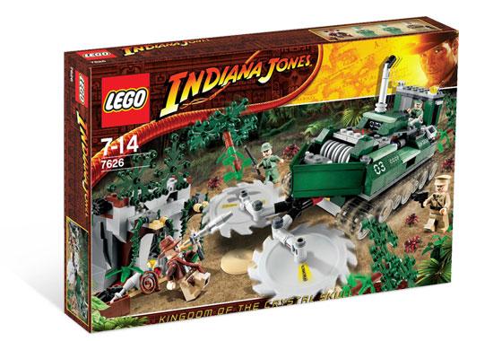 MINIFIGURE COLONEL DOVCHENKO SET 7626 LEGO INDIANA JONES JUNGLE CUTTER