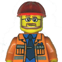 Construction worker torso