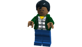 The Big Bang Theory minifigures (Raj)