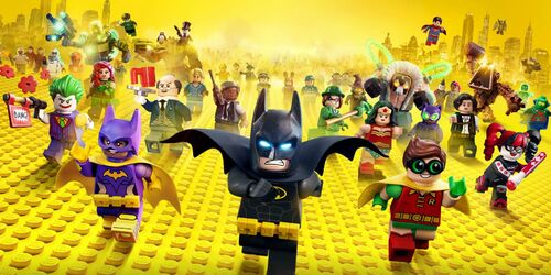The LEGO Batman Movie bannière
