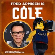 Vignette Ninjago Movie Fred Armisen