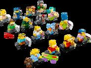 71005 Minifigures Série Les Simpson 2