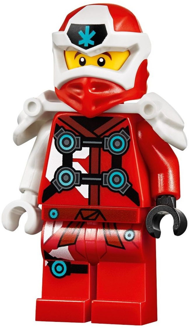 Genuine Lego Ninjago Kai Hands Of Time Mini Figure With Armour And Sword