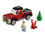40083 Le camion de transport de sapins de Noël