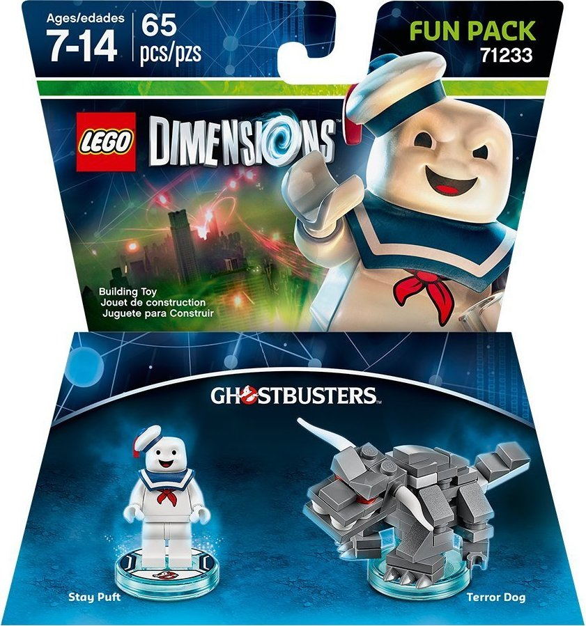 NEW LEGO TERROR DOG MINIFIG 71233 figure ghostbusters dimensions ZUUL minifigure