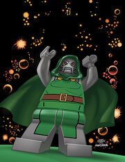 LMSH Dr. Doom Alternate Cover