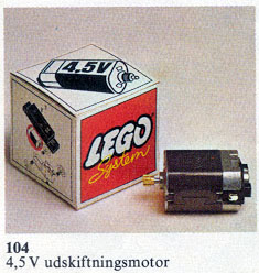 104-Replacement 4.5V Motor