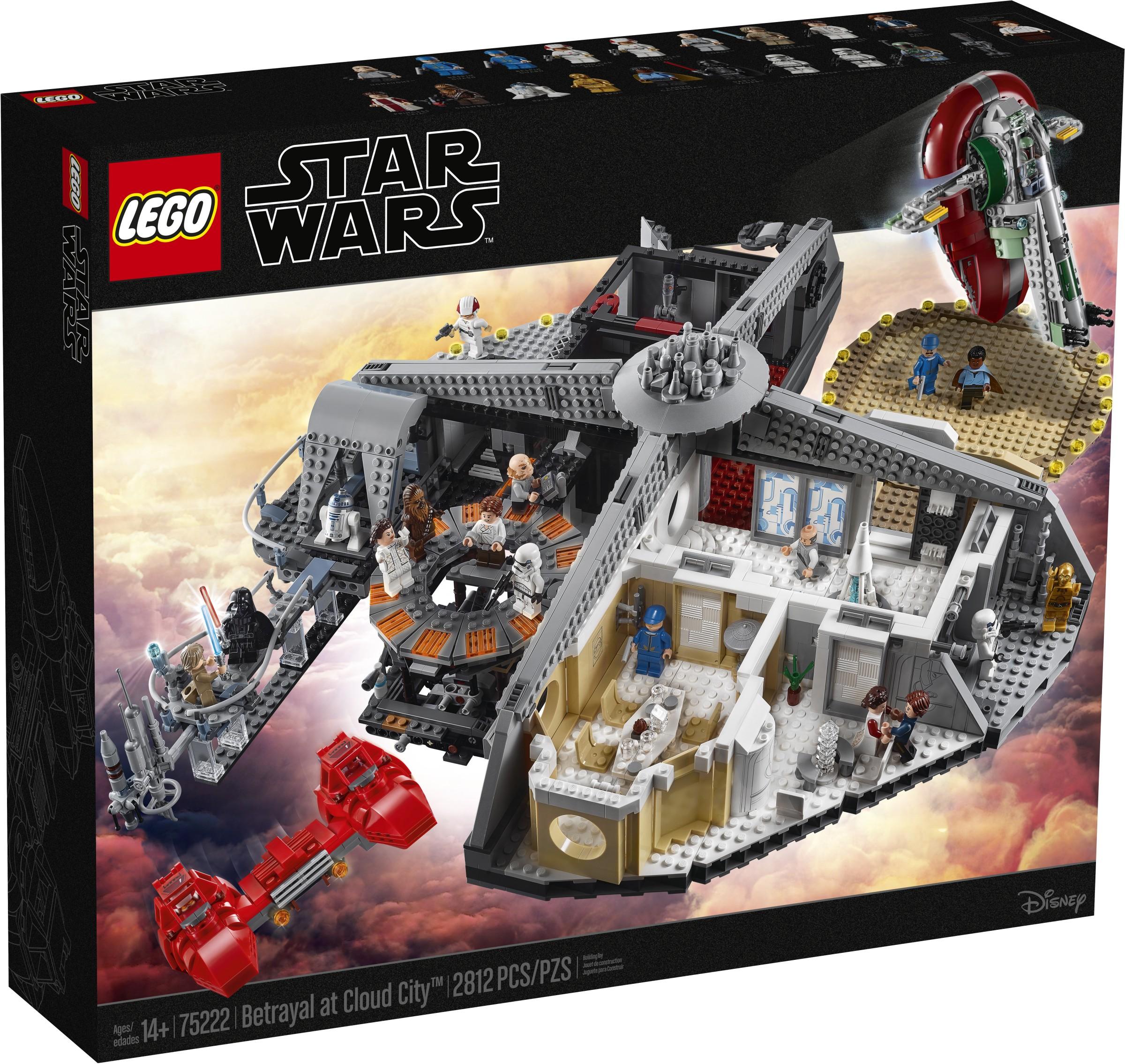 LEGO STAR WARS LUKE SKYWALKER MINIFIGURE Betrayal at Cloud City 75222 NEW