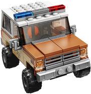 75810 Hopper Police Car