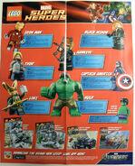 Avengers poster back