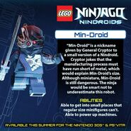 LEGO Ninjago Nindroids Min-Droïde