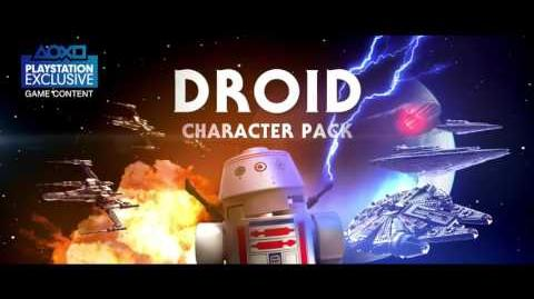 LEGO Star Wars The Force Awakens Droids Character Spotlight Trailer PS4, PS3