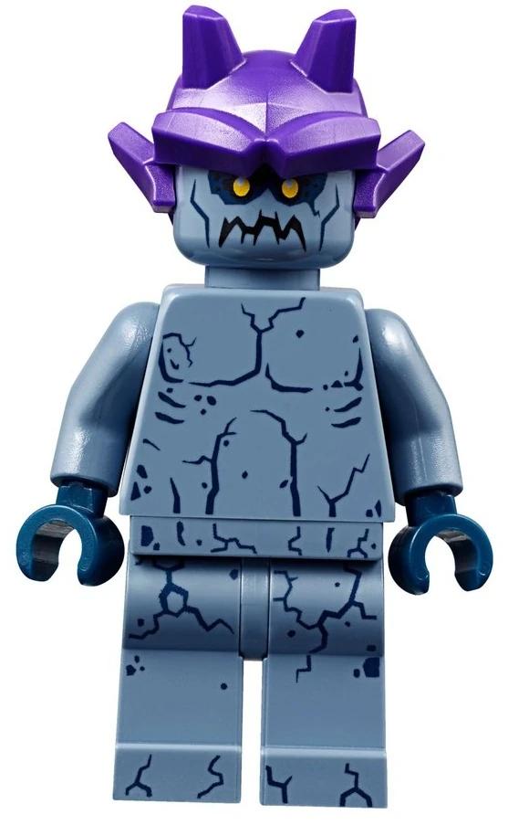 LEGO Nexo Knights Stone Stomper Minifigure 70357 Mini Fig with Spear