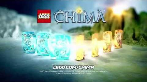LEGO CHIMA - Sir Fangar vs Fluminox Constraction