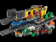 60052 Le train de marchandises