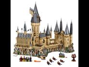 71043 Le château de Poudlard