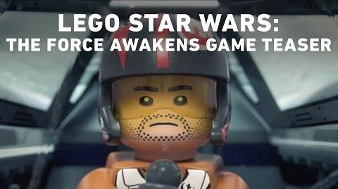 LEGO Star Wars The Force Awakens Video Game - Announce Teaser Trailer