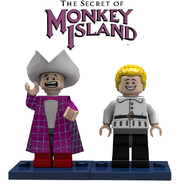 Lego Stan and GuyBrush