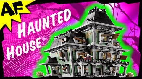 Monster Fighters HAUNTED HOUSE Animated Lego Building Review 10228