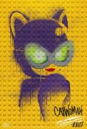 The LEGO Batman Movie Poster graffiti Catwoman