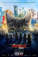 The LEGO Ninjago Movie Poster Dolby