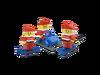 40022 Ensemble de Pères Noël miniatures