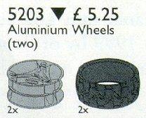 5203 Technic Alloy Wheels