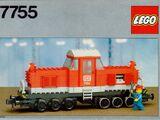 7755 Diesel Heavy Shunting Locomotive