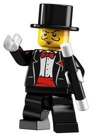 Lego magician minifigure