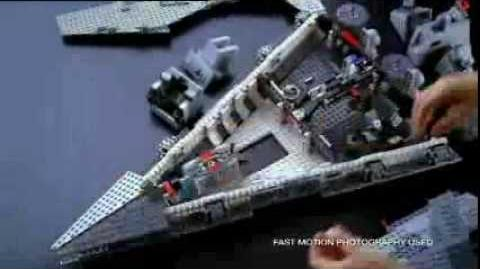 Lego star wars star destroyer commercial