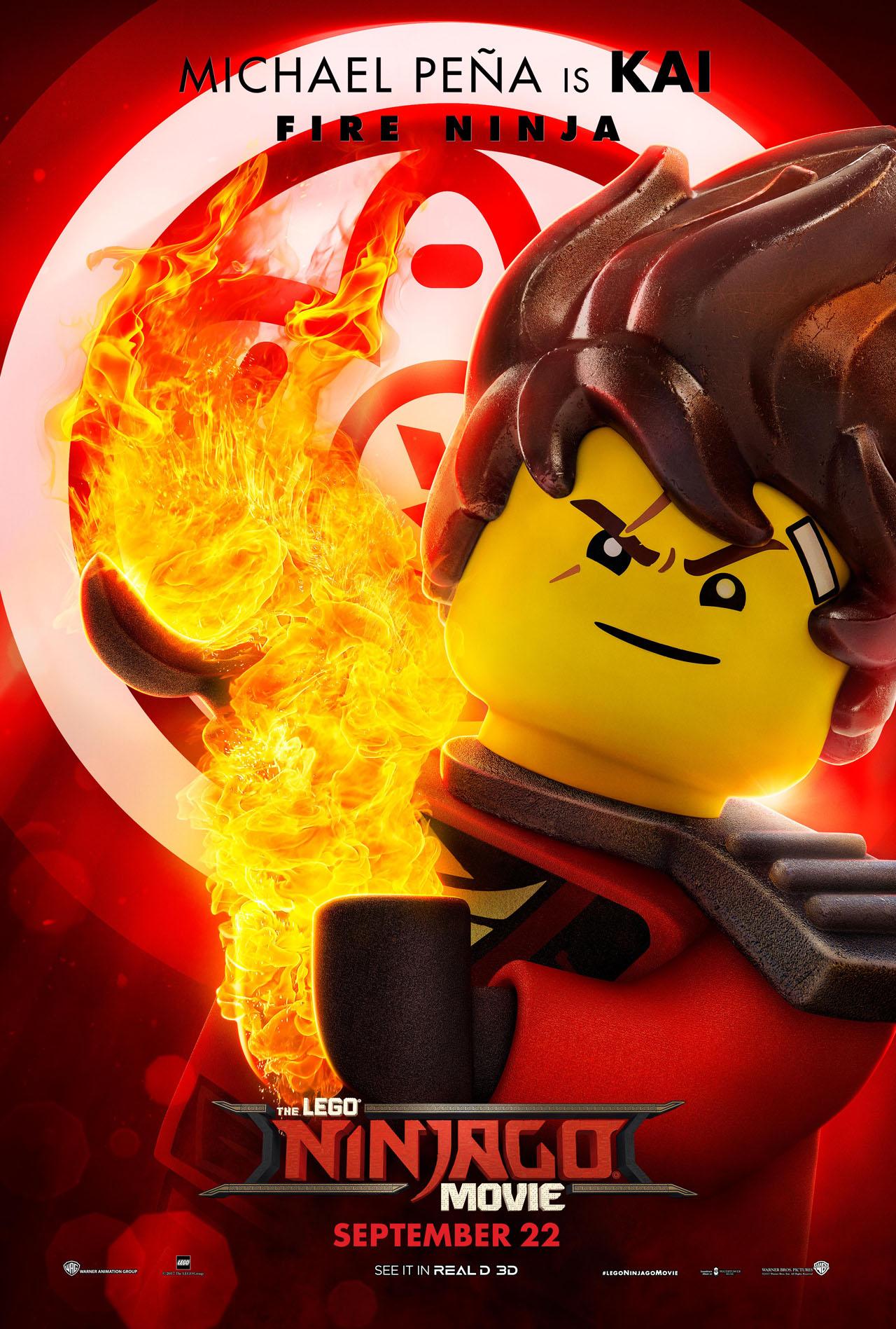 image  the lego ninjago movie poster kai 2  wiki