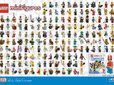 5002483 Poster Minifigures