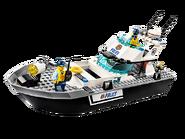 60129 Le bateau de patrouille de la police 2