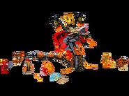 70674 Croc' feu