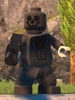 Custom Black Mask