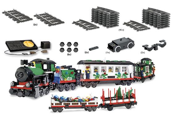 K2159 Holiday Train Starter Collection | Brickipedia | FANDOM ...