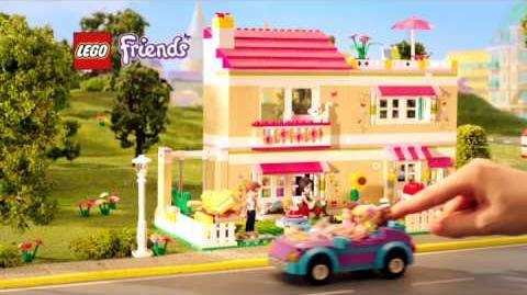 LEGO Friends Heartlake City français